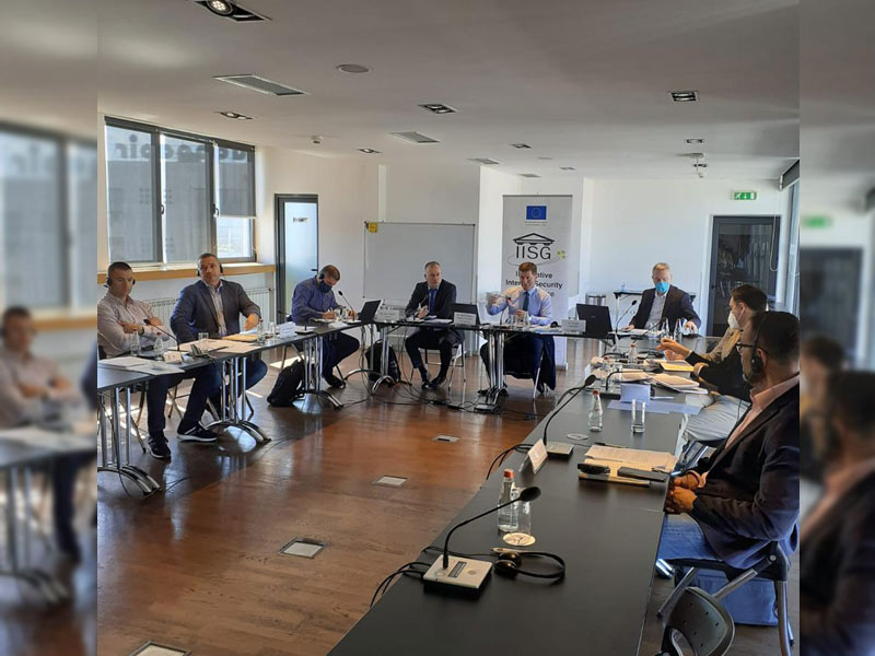 Support Group Meeting on Western Balkan Border Security initiative (WBBSi)