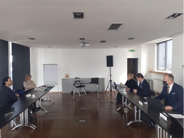 IISG Secretariat Meeting with representatives from the EUD in Belgrade