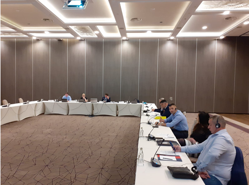 Pillar Consultations with MoI of Montenegro, Podgorica, 15th of June 2021